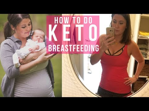 Breastfeeding & Low Carb / Keto Diet – Intermittent Fasting to Lose Baby Weight | Ashley Salvatori