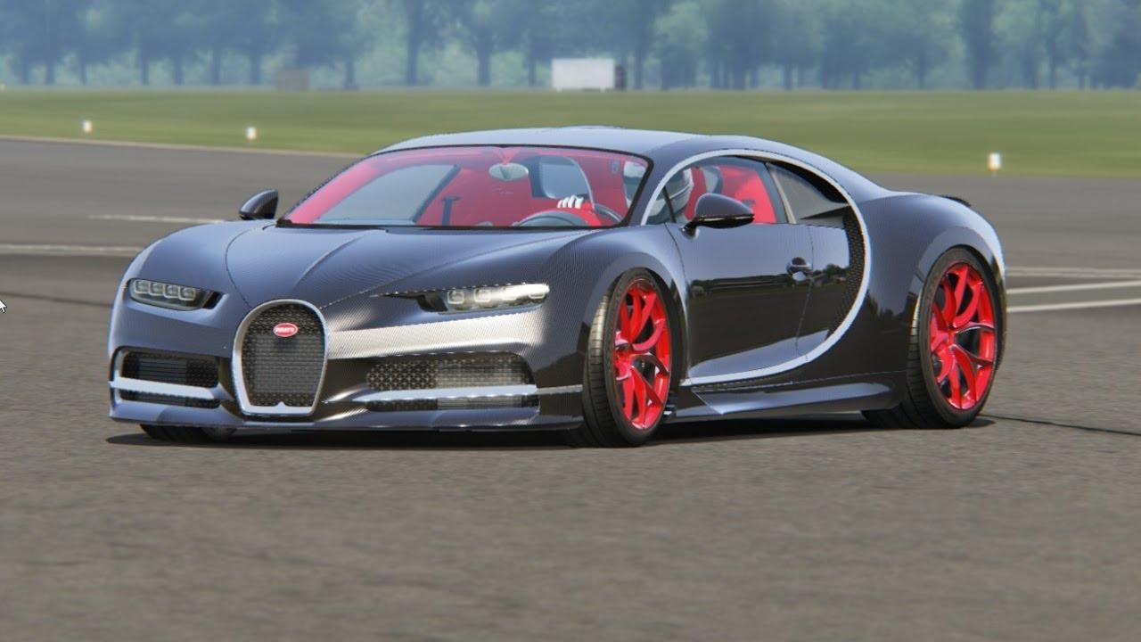 Bugatti chiron top gear
