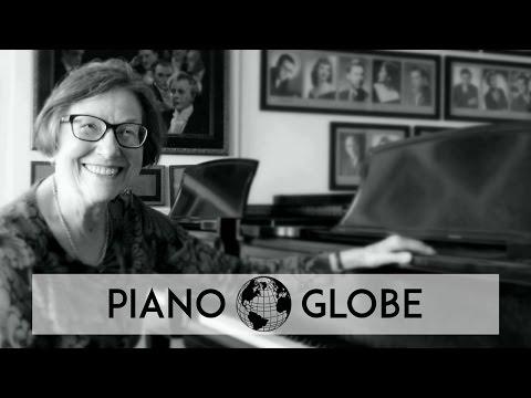 Interview-clip with Piano Professor Ludmila Lazar, Chicago