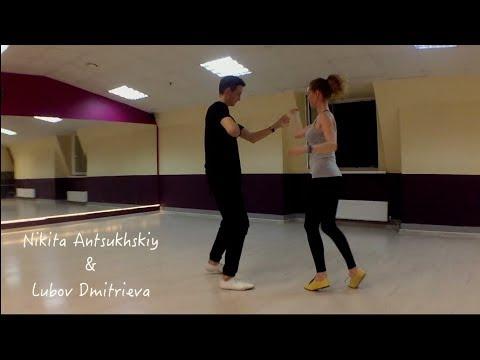 Salsa NY style. Nikita Antsukhskiy & Lubov Dmitrieva. Dance Studio 25.5
