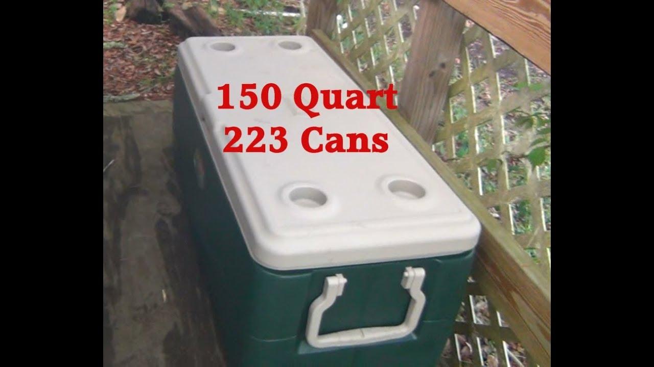 Coleman 150 Quart Xtreme Cooler TEST