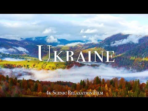 Ukraine 4K - Scenic Relaxation Film With Calming Music