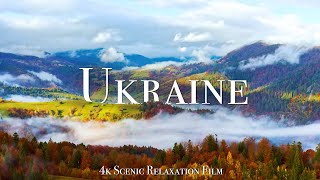 Ukraine 4K - Scenic Relaxation Film With Calming Music
