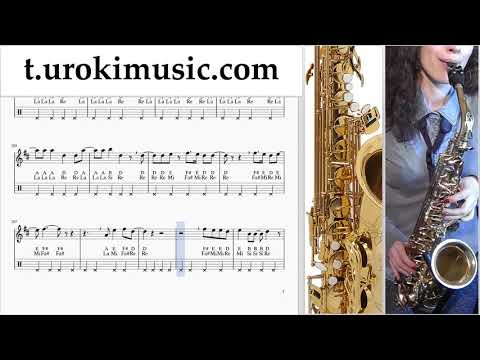 The Archer Sheet Music Saxophone (Tenor) - Taylor Swift The Archer Tutorial thumbnail
