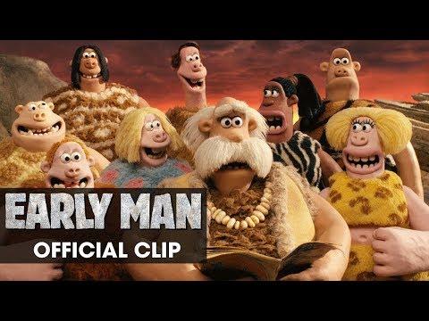 "Early Man (2018 Movie) Official Clip ""Group"" - Eddie Redmayne, Tom Hiddleston, Maisie Williams"