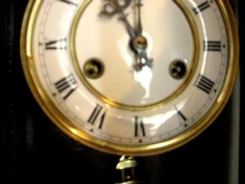 Orologio pendolo da muro Junghans - YouTube