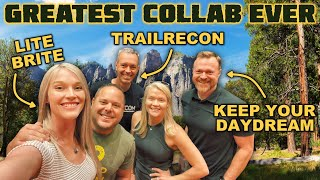 The Greatest Event Ever! Lite Brite x TrailRecon x Keep Your Daydream