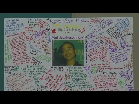 Students Hold Memorial For Advisor Killed In Columbia Heights