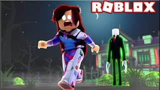TRY TO ESCAPE SLENDER BEFORE IT'S TOO LATE! (ROBLOX STOP IT SLENDER)