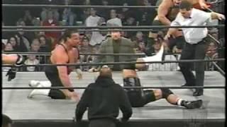 Scott Norton Botches Power Slam, Almost Breaks Rick Steiner's Neck (HQ)