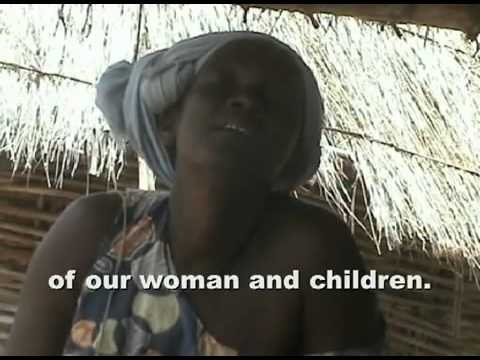 Mid wife in Senegal, Africa explains the difficulties malaria brings