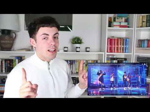 Bruno Mars - 24K magic (American Music Awards 2016 Live) | REACTION
