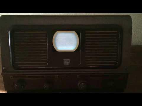 Vintage  Pilot Radio Candid Television TV TV-37