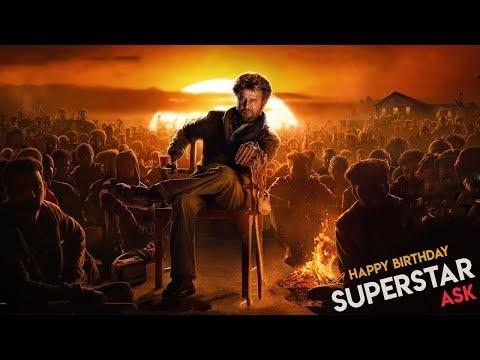 A Tribute to Superstar Rajinikanth   Birthday Special Mashup   Whatsapp Status video