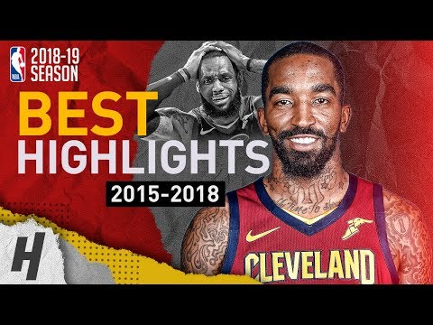 JR Smith BEST Highlights with the Cleveland Cavaliers | Clutch Shots, CRAZY Dunks | 2015-2018