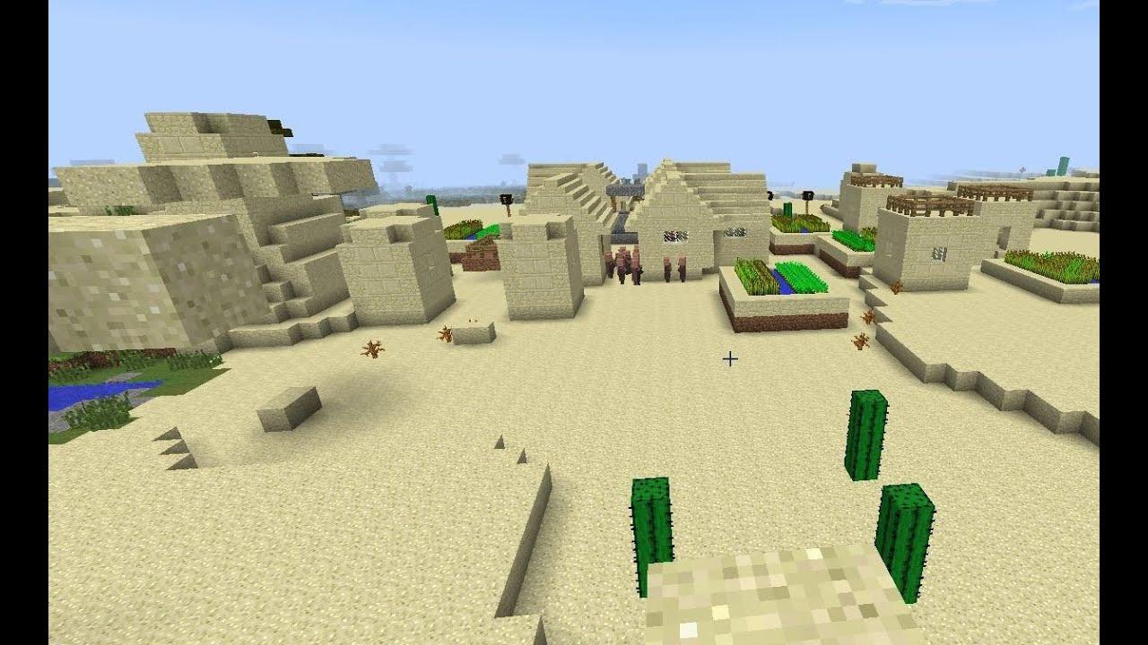 как построить деревню в пустыне в майнкрафте #5