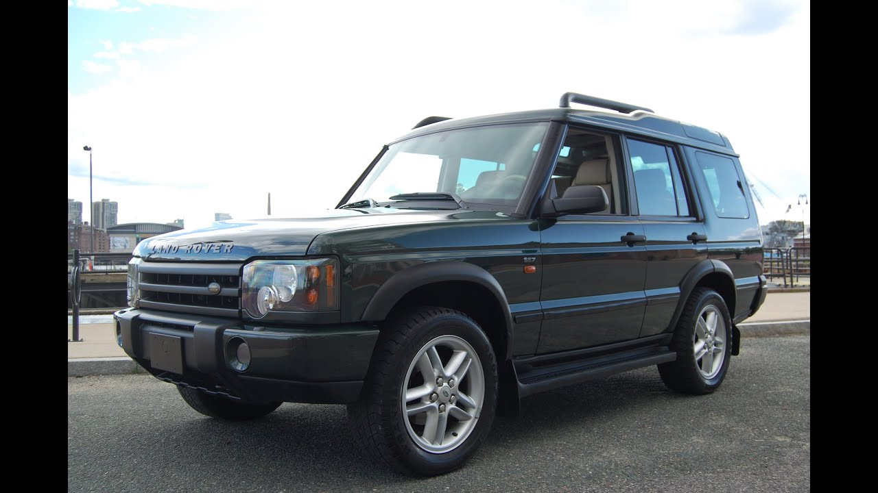 2004 Land Rover Discovery SE7 Epsom Green Alpaca Beige at Louis