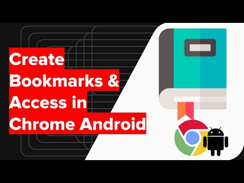 How to Bookmark in Chrome Android and Access/Delete Bookmarks?