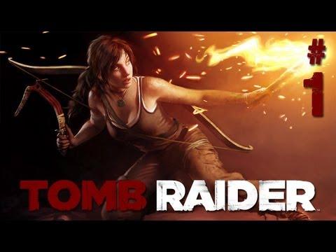 "Tomb Raider Walkthrough: Part 1 Let's Play Gameplay - The Beginning -  ""tomb raider walkthrough"""