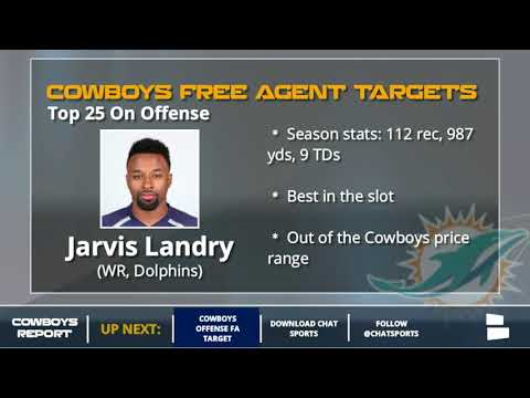 Dallas Cowboys' Top 25 Free Agent Targets On Offense