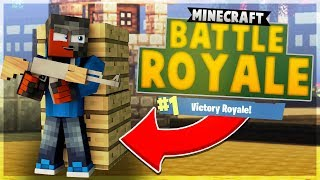 NEW BATTLE ROYALE SERVER in MCPE!!! 😱 - Minecraft PE (Pocket Edition)