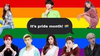 THE BEST OF KPOP IDOLS SUPPORTING LGBTQ COMMUNITY