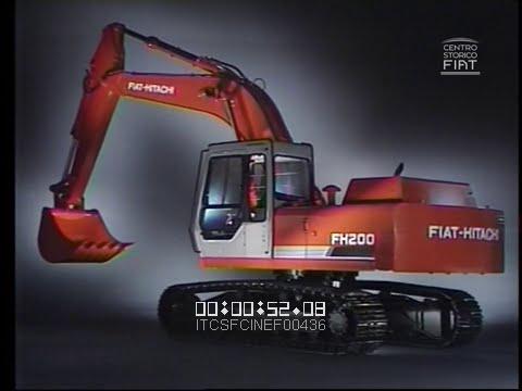 Escavatori Fiat-Hitachi (FH 200 / Fiat-Allis) \ 1988 \ ita V-