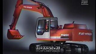 Escavatori Fiat-Hitachi (FH 200 / Fiat-Allis) \ 1988 \ ita