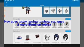 I FOUND 2 ITEMS IN ROBLOX AND THERE A SURPRISE AT THE END TEE HEE