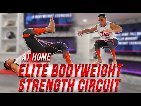 TOP 5 Bodyweight Exercises To Develop ELITE STRENGTH & CONDITIONING // 15 Minute Circuit