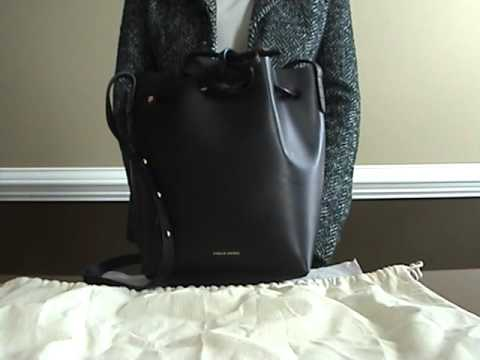 c5ac71f32a Mansur Gavriel Mini Bucket Bag Review - YouTube