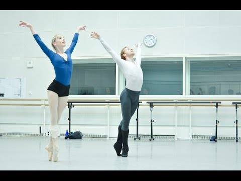Jewels in rehearsal (The Royal Ballet)