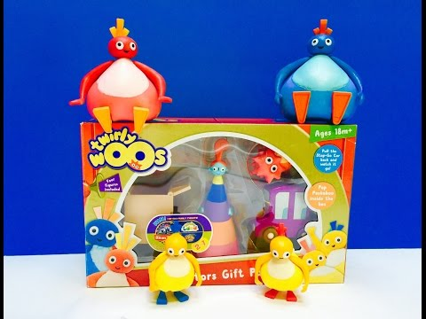 Brand New TWIRLYWOOS TOYS Visitors Gift Pack Opening!
