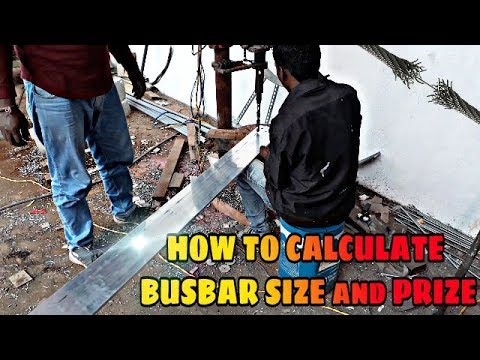 Busbar Size and Price Calculations | Busbar size chart & price chart | How  to Calculate Busbar size