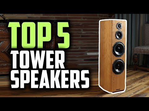 Best Tower Speakers In 2019 | Enjoy The Music!