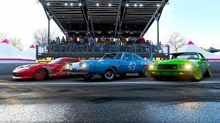 Forza Horizon 4 Pixar Cars Movie Cinematic - Recreating Famous Scenes!