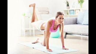 Фитнес дома для начинающих Упражнения для похудения на самоизоляции