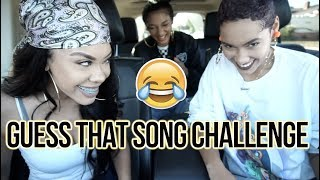 GUESS THAT SONG CHALLENGE!!! 🤔👏🏽😂🔥  *SUPER LIT BUT THINGS GET INTENSE!* | CERAADI