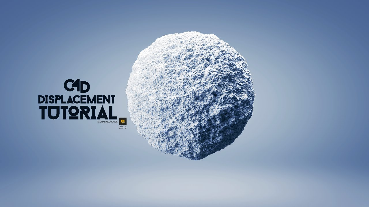 Animated Snow Wallpaper Cinema4d Displacement Tutorial Youtube