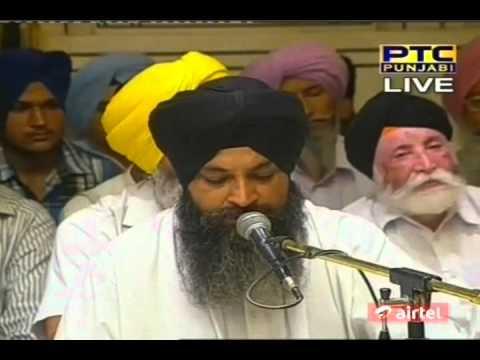 *Abchal Nagar Gobind Guru Ka* {Bhai Sarabjit Singh Ji} 13-7-2012 - PM Sodar Chowki Kirtan Seva