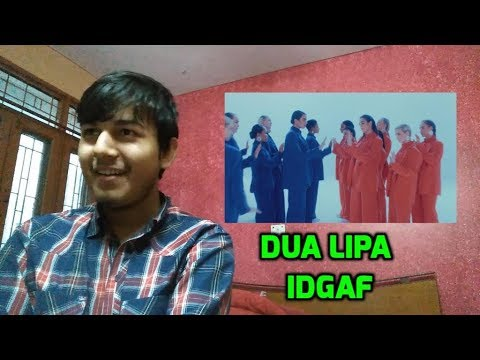 Dua Lipa - IDGAF (Music Video) | Reaction