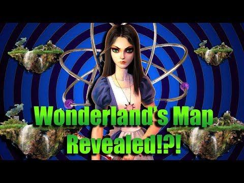 WONDERLAND\'S WORLD MAP REVEALED?! - (Alice Asylum NEWS #6 and Predictions)