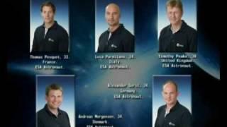 ESA astronauts at Russian Language and Culture Institute (film 1)