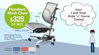 Humbert Ergonomic Mesh Chair For Kids And Teens