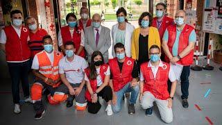 Visita a la sede de Cruz Roja La Rioja