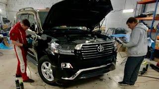 Крузак Администрации стал БОМБОЙ! Переделка за 1 день. Новая Toyota Land Cruiser рестайлинг