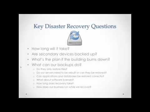 Disaster Recovery vs. Business Continuity Planning