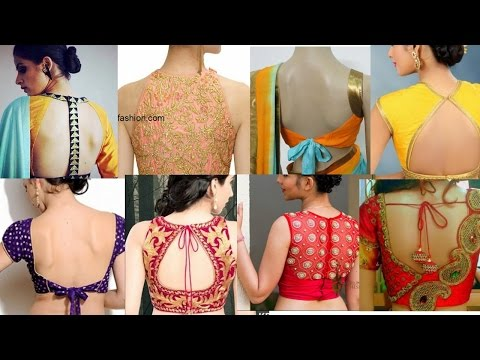 50+ Latest Saree Blouse Design For Bride 👰👰👰