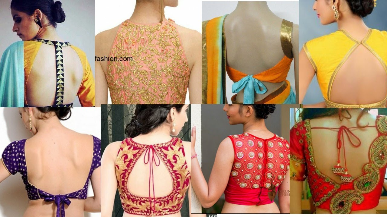50 Latest Saree Blouse Design For Bride Youtube