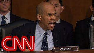 Cory Booker rips DHS chief's